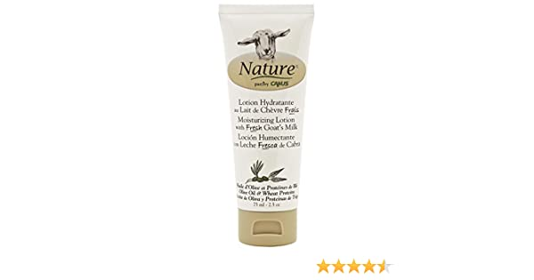 Amazon.com : Nature by Canus, Fresh Goats Milk Moisturizing Lotion, Olive Oil & Wheat Proteins : Beauty