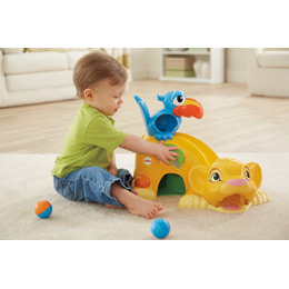 Fisher-Price Disney Drop 'n Roar Simba Toy