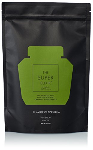 (WelleCo - All Natural Super Elixir Greens (300g Refill Pack))