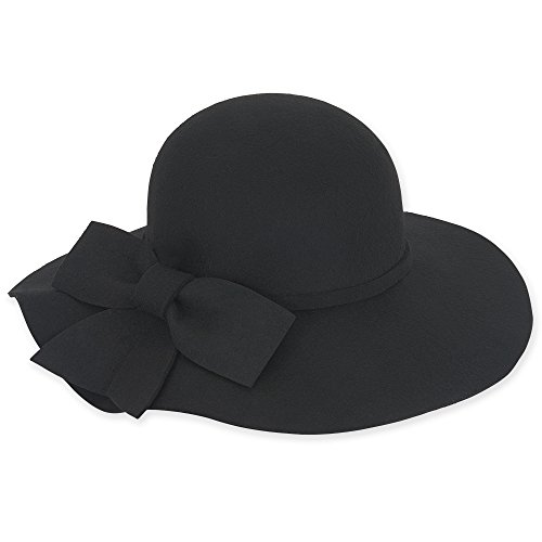 adora-womens-wool-felt-wide-brim-floppy-fedora-hat-with-large-bow-462-a-black