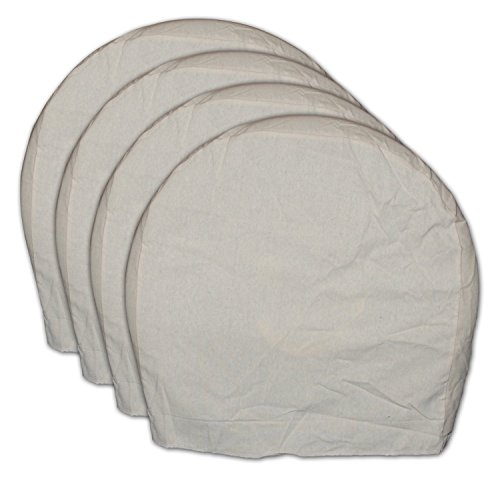 32'' Heavy Canvas Wheel Masker/Protection Set - 4pc by AES Industries