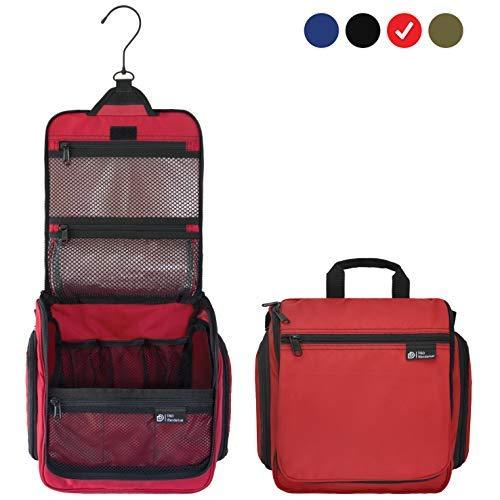 D&D Hanging Toiletry Bag - Designer Travel Organizer for Mak