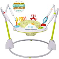 Skip Hop Explore & More Jumpscape Fold-Away Baby Jumper with Bounce Counter