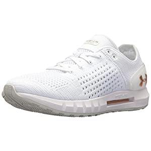 Under Armour Women's HOVR Sonic NC, White/Elemental/Metallic Faded Gold, 9.5 B(M) US