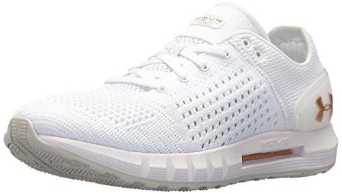 Under Armour Women's HOVR Sonic Running Shoe, White (102)/Elemental, 7.5