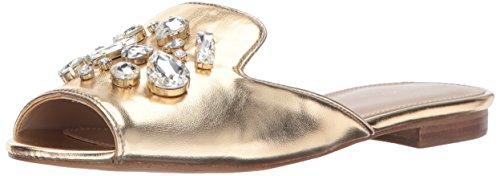 Aldo Women's Fraydda Slide Sandal, Gold, 7 B US
