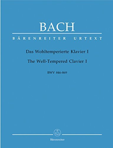 Bach: The Well-Tempered Clavier - Part I, BWV 846-869
