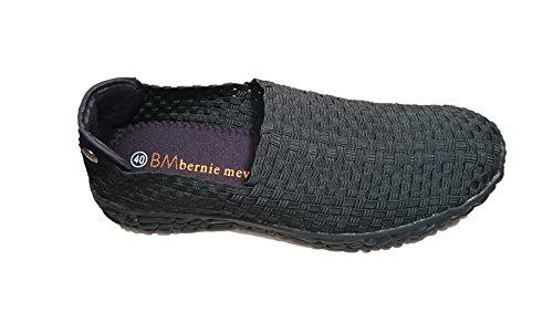 Bernie Mev. Herren Sneaker Schwarz Schwarz