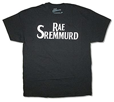 Rae Sremmurd Beatles Logo Mens Black T Shirt