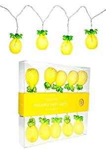 Sunnylife Australia Pineapple Shaped Indoor and Outdoor String Lights