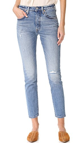 Levis 501 Denim Blue Jeans - 2