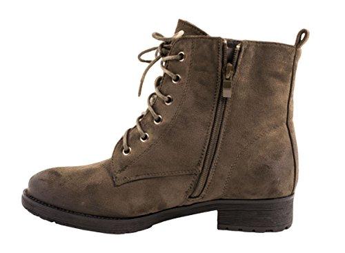 Elara - botas estilo motero Mujer gris oscuro