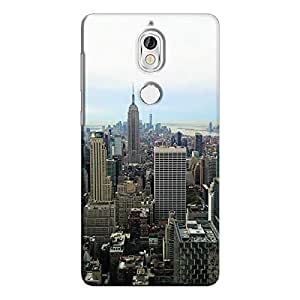 Cover It Up - New York Sky Nokia 7 Hard Case