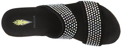 Black Infinite Women's Sandal Flat Volatile zF4HqIw