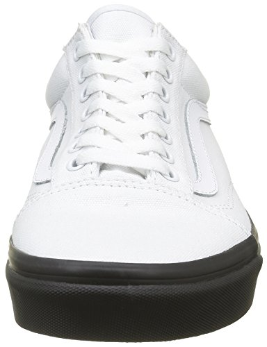 Adulto Mlx Old Blanco Skool Zapatillas Vans Unisex wYOpqFI
