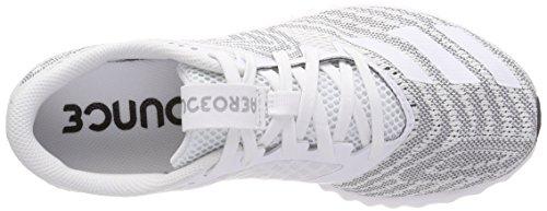 Trail adidas Zapatillas Mujer Negbas Ftwbla Blanco W Pr 000 de para Running Aerobounce Ftwbla HqFFfrX