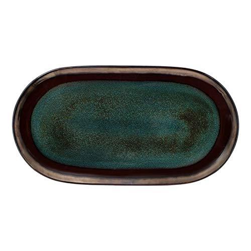 Gourmet Basics Jade Oval Platter