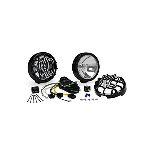 KC HiLiTES 124 SlimLite Black 100w Driving Light System