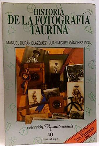 Historia de la fotografia taurina.; t.1: Amazon.es: Duran, Manuel ...