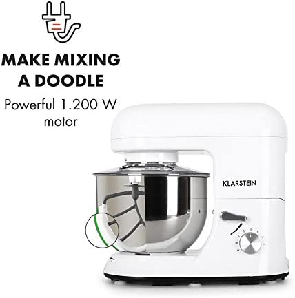 Klarstein TK1 Bella Bianca Robot de Cocina - Multifunción ...