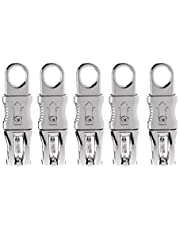 NEWMIND 5pcs 100mm Alloy Equestrian Panic Hook Horse Riding Quick Release Clip Tool