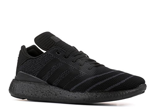 Adidas Busenitz Pure Boost PK (Core Black/Core Black/Core Black) Men's Skate Shoes-10 by adidas