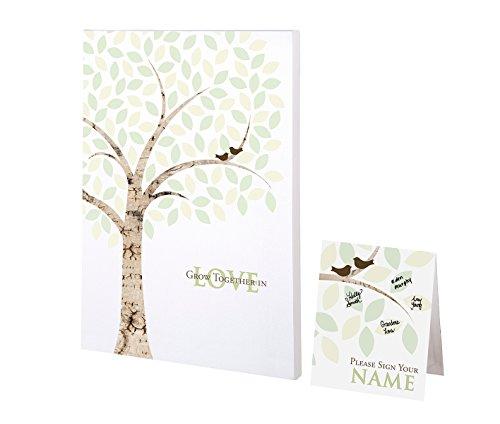 Lillian Rose Wedding Guest Book Alternative Signing Tree Canvas, Multicolor]()