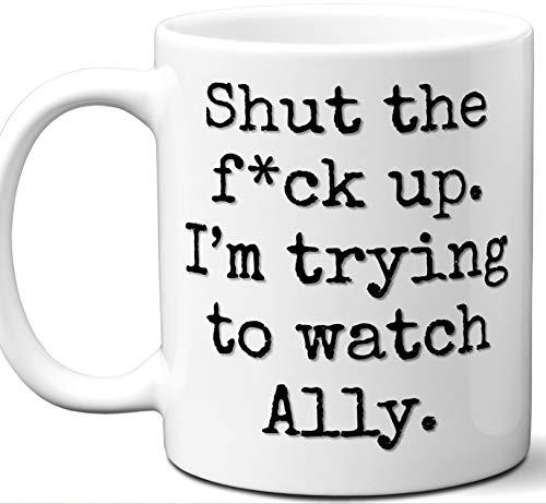 Ladies Allies Watch (Ally Gift Mug. Funny Parody TV Show Lover Fan