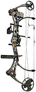Bear Archery Strike Ready to Hunt Compound Bow Package Left Hand, 50#