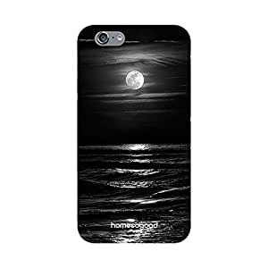 HomeSoGood Beautiful Shining Moon Black 3D Mobile Case For iPhone 6 (Back Cover)