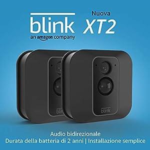 Blink XT2 | Telecamera di sicurezza per interni/esterni con archiviazione sul cloud, audio bidirezionale, autonomia di 2… 16 spesavip