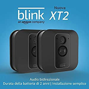 Blink XT2 (Seconda Generazione) | Telecamera di sicurezza per interni/esterni con archiviazione sul cloud, audio… 2 spesavip