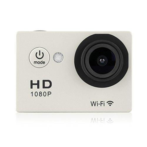 2.0 Inch WiFi 1080P Full HD 30M Waterproof H264 12Mp Video Action DV Sports Camera Silver