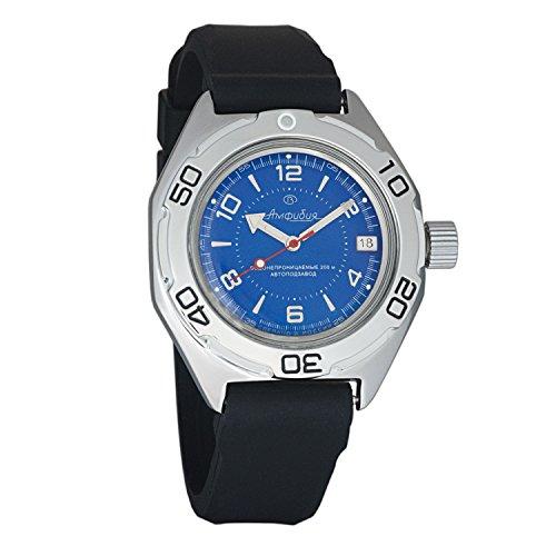 Resin Dive Watch Case (Vostok Amphibian Military Automatic WR 200m Mens Self-winding Amphibia Case Wrist Watch #670007 (resin))