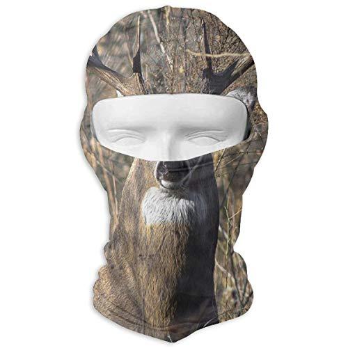 Whitetail Deer Windproof Dustproof Face Mask Balaclava UV Prevention Hood Hat