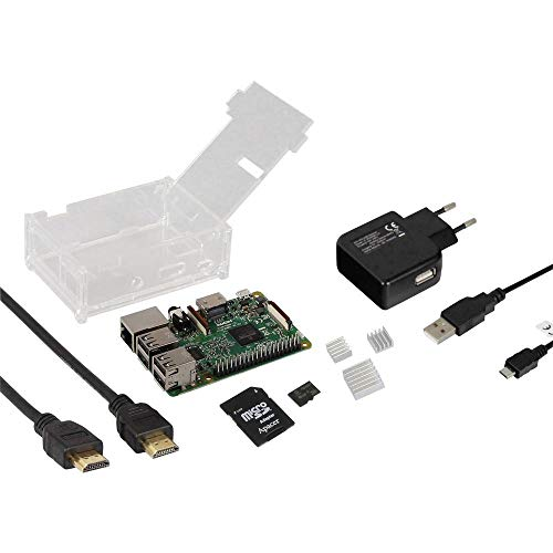 Raspberry Pi® Joy-it Basic Complete-Set 3 B 1GB 4 x 1.2GHz incl. case, incl. HDMI-Kabel, ink