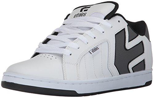Etnies Men's Fader 2 Skateboarding Shoes White (White/Grey/Black) 45cJ8v