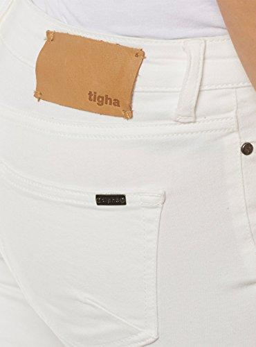 Tigha - Vaqueros - para mujer blanco crudo