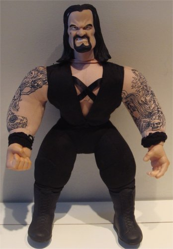 WWF Bone Crunching Buddies UNDERTAKER - With Tattoos!