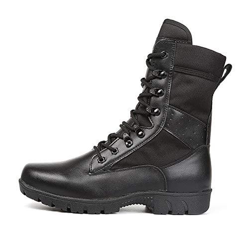 HCBYJ Schuhe Combat Stiefel Ultra Light Combat Stiefel Land Warfare Men's Training Summer