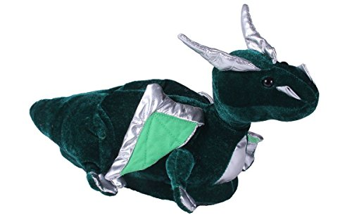 Dragon Foot (9068-2 - Dragon - Medium - Happy Feet Animal Slippers)