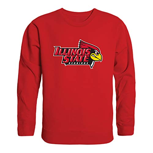 Illinois State University NCAA Long Sleeve Crew Neck t Shirt Men, Medium ()
