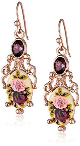 - 1928 Jewelry Manor House Filigree Drop Earrings