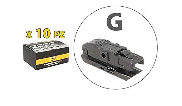 Kit 10 fijaciones Conectores Adaptadores Conectores G para ...