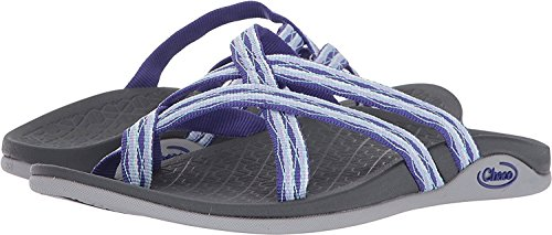 Chaco Womens Tempest Cloud Athletic Sandal Batik Purple