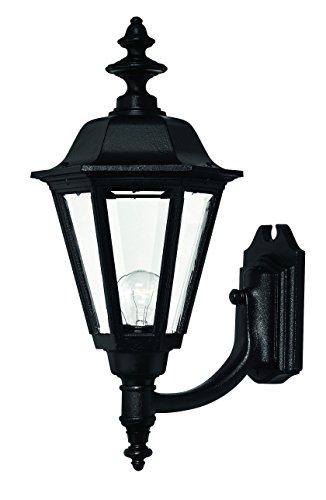 (Hinkley 1449BK Traditional Four Light Wall Mount from Manor House collection in Blackfinish,)