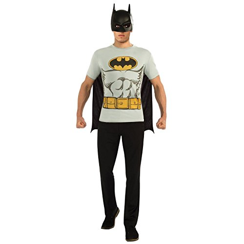 Rubie's Batman T-Shirt Adult Costume Kit]()