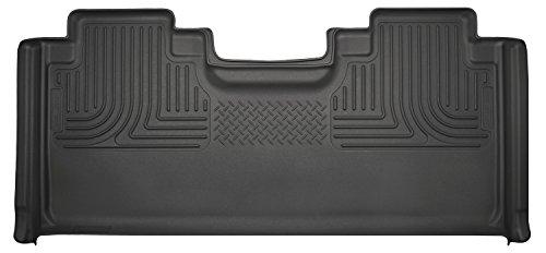 Husky Liners 19361 Black 2nd Seat Floor Liner Fits 15-19 F150, 2017-19 F250/F350 SuperCab