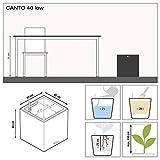 Lechuza 13750 Canto Premium 40 Cube White high
