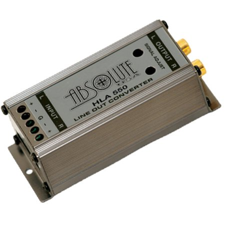 annel High Level to Low Converter Line Output with Ground Loop Isolator Built in signal Noise Eliminator (Line Level Isolator)